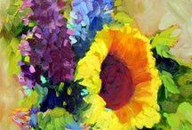Flores pictoricas