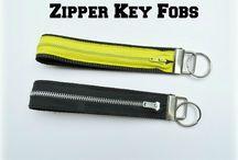 Key pouchs/ fobs