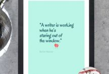 WRITING / by Patricia L Vander Kamp