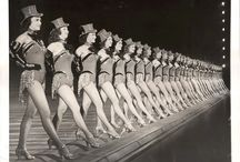 Choreography / Vintage Chorus Girl group formations