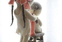 panenky plstěné