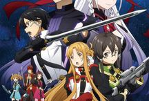 Manga/Anime / - Sword Art Online - Noragami - Akatsuki no Yona - Hakuouki