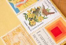 Vintge postage
