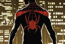 Miles Morales: Ultimate Spider-Man / Images of Miles Morales, the Ultimate Spider-Man.