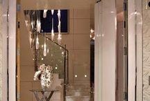 Lavish Homes: Foyer & Entry Way / by Inspired Decor