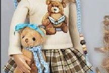 Много кукол, смотреть вязание