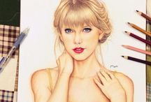 celebrities / all about sketching