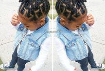 Girls natural hair styles