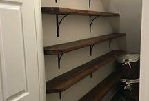 Open shelving