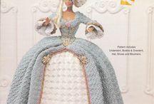 Barbie & Crochet / Imagens de roupas de crochet para Barbie