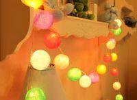 Copos de luz en el cuarto de los chicos / Decoración para la habitación de los chicos. #guirnaldas #garlands #decoracion #cumpleaños #regalos #original #originales #home #hogar #bounting #parabebes #paraniños #dormitoriosinfantiles #dormitorios #infantiles #cuartos #juegos #ideas #inspiracion #casa #babyshower #homedeco