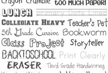 Fonts and ClipArt