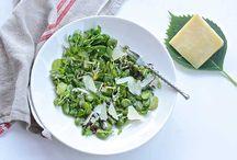 Κουκιά χλωρά (φρέσκα) με λεμόνι σαλάτα / Γευστική ανοιξιάτικη σαλάτα κουκιά χλωρά (φρέσκα) με λεμόνι