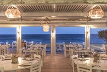 Restaurant by the sea
