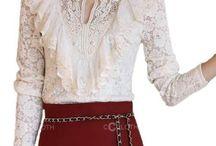 lace -dresses- blouses e.c / Lace-dresses- blouses e.c
