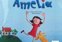 """""""Amelia"""" / """"Amelia"""" - Ángela Sánchez / Mariana Ardanaz ISBN de la edición en asturiano: 978-84-92964-39-0 ISBN de la edición en castellano: 978-84-92964-48-2 ISBN de la edición digital en castellano: 978-84-92964628"""