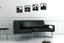 Wall decals for globetrotter / This is our collection of wall decals for everyone who loves to travel, wants to see the world and keep the memories in their homes by decorating walls, closets, doors, etc.