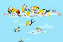 Les toucans s'habillent pour l'hiver