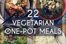 Vegetarians  one pot meal
