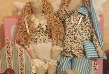 Textile toys by Katrincreative