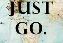 Places to go someday in the future / it's about places I love in the world and I want to go there
