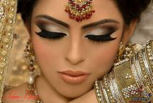 South Asian bridal makeup