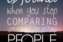 Quotes I follow. .