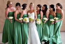 Green Bridesmaid Dresses / by Official Bridesmaid