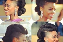 Natural Celebrities / Celebrities who sport that natural hair lifestyle...