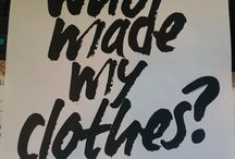 #WhoMadeMyClothes / April 24th 2015 - A day to question ourselves and the fashion industry.