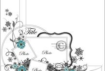 Layout sketches: pages & cards / by Theresa Wilson