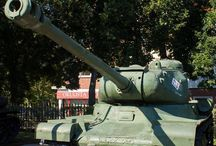 Soviet and Russian tanks.