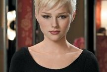 Pixie Cut Blonde Hair