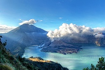 mountain rinjani indonesia