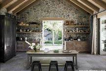 Kitchen, dining room, pantry / by Eva