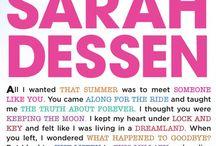 Sarah Dessen Confessions / What is your confession?