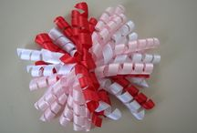 Beads: clips, barrettes / Beaded clips, ribbon slides