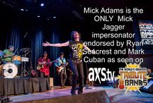 """AXS TVs """"The Worlds Greatest Tribute Bands"""""""