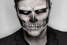Halloween make up ideeen