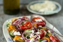 Beilage zum Grillen Salate