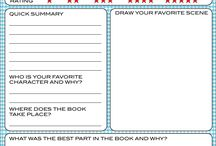 free printable book review template