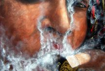 Amoxes Art of Smoking / Here are some of my cigar art. Most are for sale, commissions always are available. Follow me on my AmoxesFaceBook page for all updates.