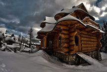 Architektura... / Domy drewniane...