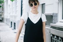 SLIP DRESS & TEES