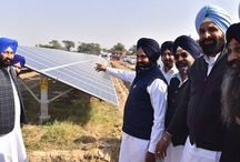 42 MW Solar Power Plant installed at Gamiwal Hakamwala village