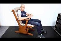 кресло качалка глейдер