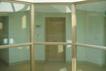 Ashdown Forest - Case Study / Fire Rated 4-storey Octagonal Glass Atrium has been installed to this case study.