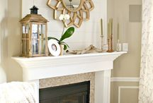 fireplaces and mantels... / Inspiring fireplaces and mantels - style, color, finish, materials and how to decorate / by Schneidermans Furniture
