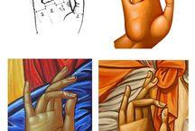 Kädet ja jalat ikoneissa