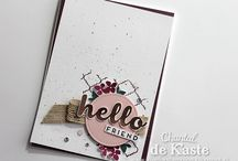 Stampin up An dich gedacht